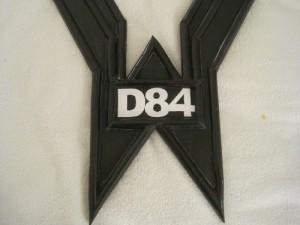 D84 VOC Robot Breastplate Lettering