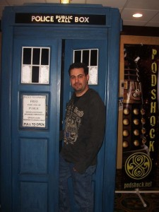 Paul Arrives at Gallifrey One in the TARDIS