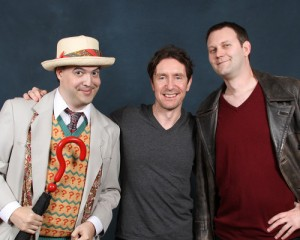 Kevin as Nine, Me as Seven with McGann