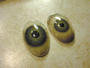 Scaroth Eyes made from spoons