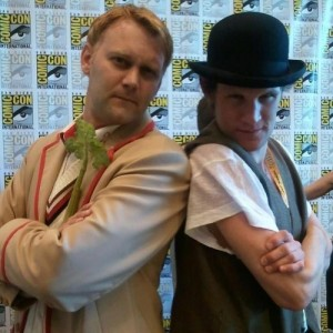 5 & 11 - Kevin Meets Matt Smith at SDCC