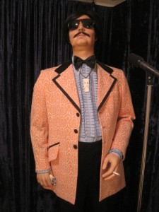 Tony Clifton Replica Costume on Display
