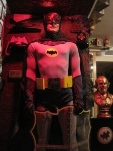 66 Batman Replica Costume with Display and Props