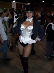 Valerie as Zatanna