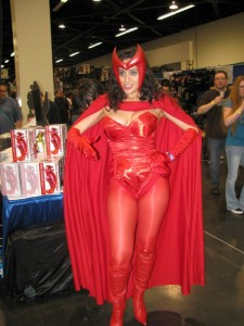 Valerie as the Scarlet Witch