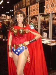 Valerie as Wonder Woman!