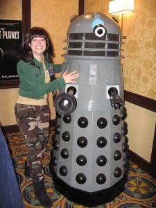 Sarah Jane Finds Paul's Genesis Dalek!