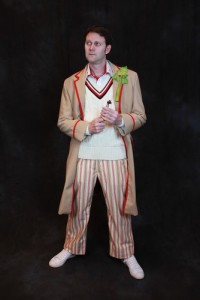 Kevin as the 5th Doctor (photo by Scott Sebring)