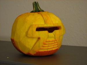 Cylon Pumpkin!