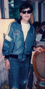 Murder Mystery Costume Bob as Miles the Race Car Driver