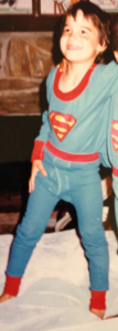 Myself in my Superman long Underoos