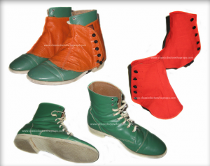 Original Sixth Doctor Boots and Spats