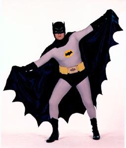 Wally as Batman!