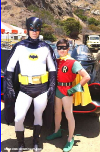Back to the Batcave Costumes Provided by Wally