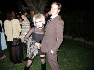 Ewan and Angel as The 10th Doctor and Pris (Blade Runner)