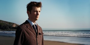 Kevin as the 10th Doctor at Bad Wolf Bay - Photo by Steve Ricks