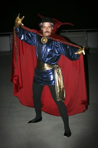 Scott as Dr. Strange