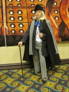 Valerie as the 1st Doctor