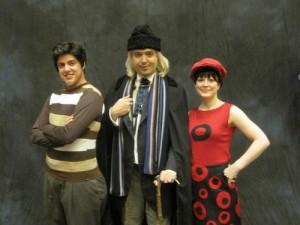 Teri as Dodo with Team TARDIS Season 3