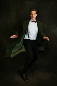 Ewan Shows off his 11th Doctor Pea Coat Photo By Scott Sebring
