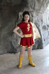 Teri as Mary Marvel