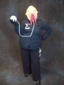 Christina as an Ood
