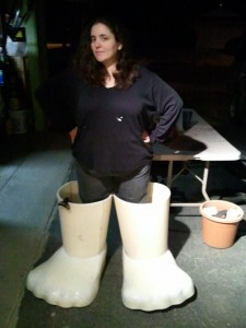 Christina's Adipose Boots