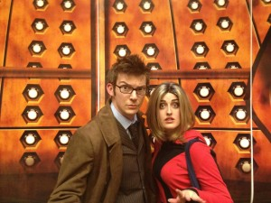 Kevin and Rachel as Ten and Rose