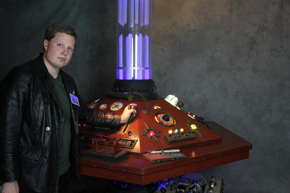 Brian at the TARDIS Controls