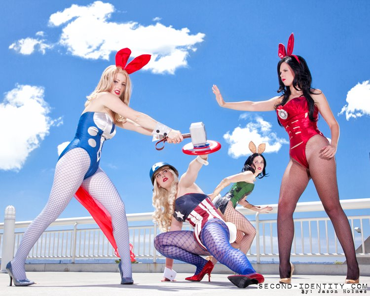 Avengers Bunnies in action