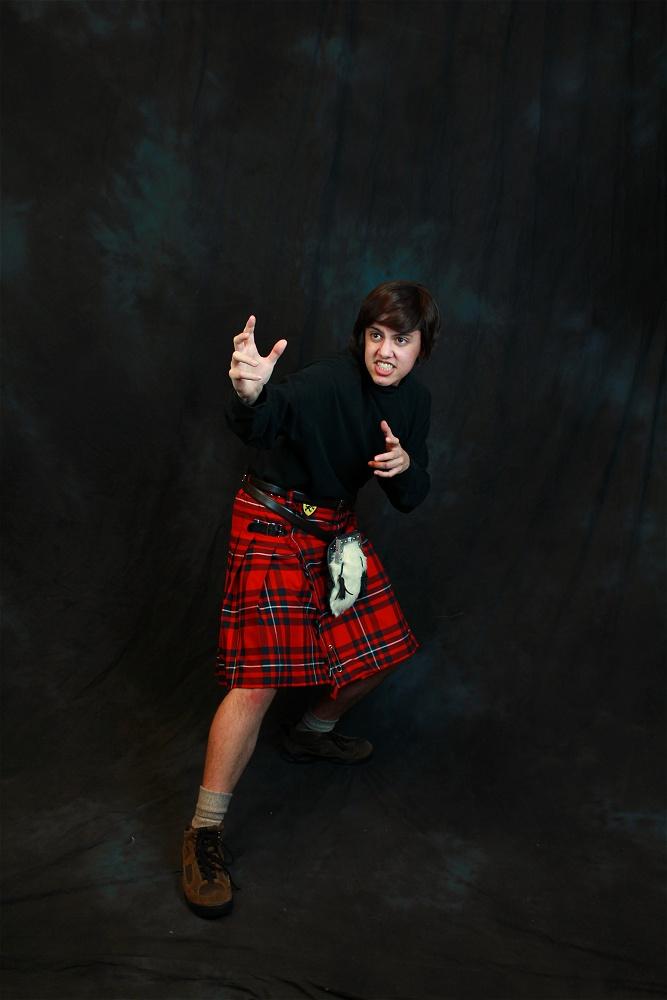Van As Jamie McCrimmon Photo by Scott Sebring