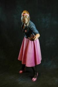 Amanda as Faceless Rose Photo by Scott Sebring