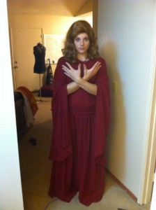 Amanda as a Sister of Karn