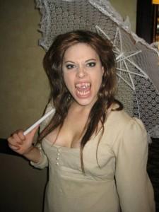 Amanda as a Vampire of Venice