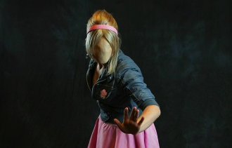 Amanda As Faceless Rose- Photo by Scott Sebring