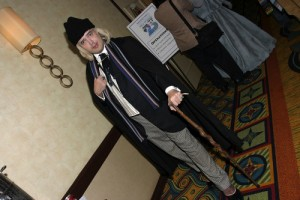 Myself as Hartnell at Gallifrey 2012