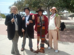 Myself as Hartnell in the bald Cap at SDCC '11