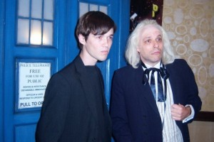 Scott as the 1st Doctor at Gallifrey 2009
