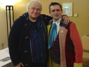 Colin Baker gives his Seal of Approval