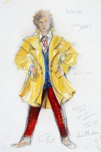 June's Alt. design concept for the 6th Doctor #1