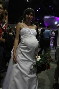 Pregnant Gwen Cooper