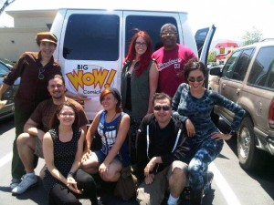 The Big Wow Party Van