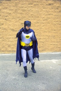 First time in the Bat Suit