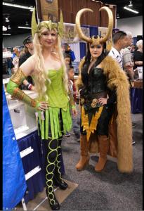 Amora and Loki