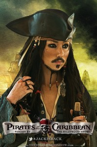 Hilly Hindi as Jack Sparrow