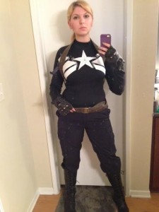 Captain America WS Stealth Suit in Progress