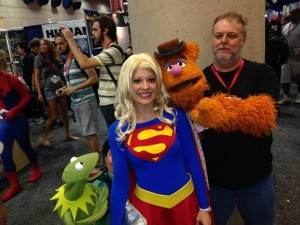 Meeting the Muppets