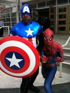 Bucky Cap & Spidey - 2010