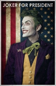 Joker For President Recreation (Prints and posters available)