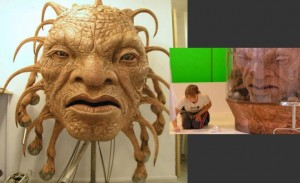 The Face of Boe Work by Neill Gorton and MilleniumFX